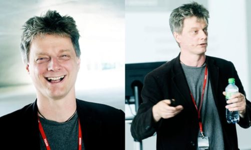 Professor og forskningsleder Steve Fotios til Lysets dag