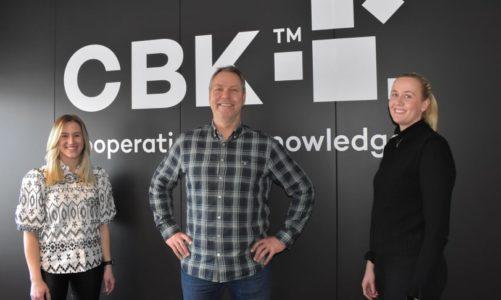 CBK er i sterk vekst og styrker sitt team med ny produktsjef og kundeservicemedarbeidere