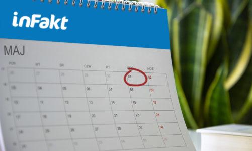 Kiedy można odebrać dzień wolny za sobotę 1 maja?