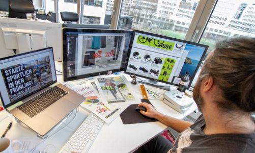 Nye grafiske muligheter for Schjærven Reklamebyrå